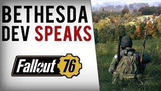 Bethesda Dev Responds To Fallout 76 Online Concerns!