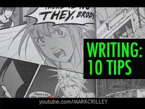 10 Great Storytelling Tips for Comic Book Writing