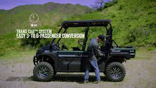 8. 2019 Kawasaki MULE PRO-FXT | Features