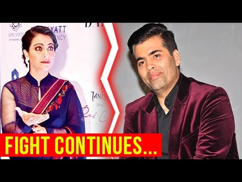 ANGRY Kajol Cuts A Reporter's Call On Karan Johar'