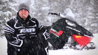 4. TEST RIDE: 2013 Polaris Indy 600 SP