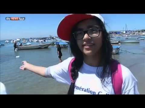 حملة تنظيف الشواطئ في الجزائر - فيديو