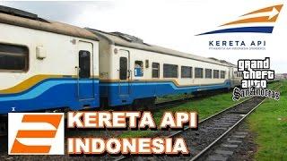 Video GTA Naik KERETA API Indonesia! MP3, 3GP, MP4, WEBM, AVI, FLV Juli 2017