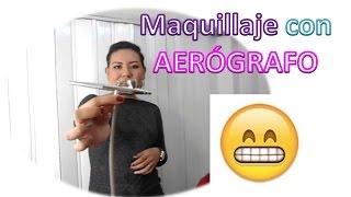 Conoces el maquillaje con aerógrafo?