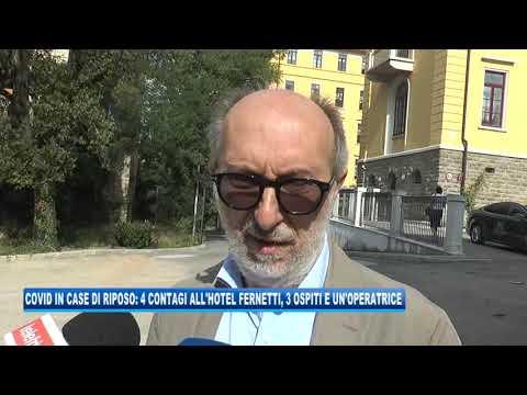 10/09/2020 - COVID IN CASE DI RIPOSO: 4 CASI ALL'HOTEL FERNETTI, 3 OSPITI E UN'OPERATRICE