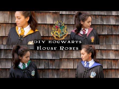 DIY Hogwarts Robes (Transform One Robe Into Four Houses)