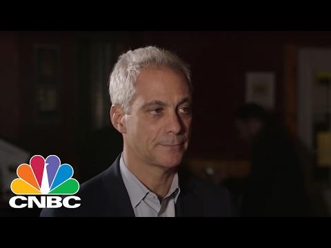 Rahm Emanuel Discusses President Obama's Legacies Under President Donald Trump | Speakeasy | CNBC
