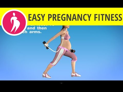 Prenatal Exercise Videos: Triceps Exercise with Dumbbells during Pregnancy