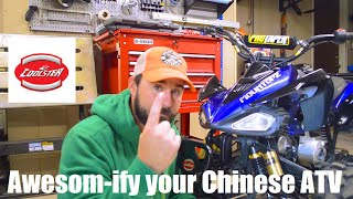 9. Chinese ATV 101 - Making a Coolster 125 better -- Chinese ATV upgrades