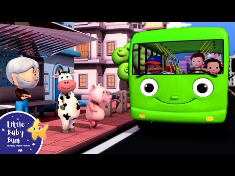 Bus - Wheels On The Bus | NEW VERSION | Nursery Rhymes | HD Version.