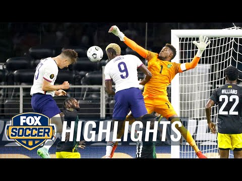 USMNT defeats Jamaica, 1-0, advances to semis on Matthew Hoppe's dramatic late goal | 2021 Gold Cup