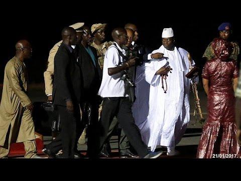 Γκάμπια: 11 εκατομμύρια δολάρια πήρε μαζί του στην εξορία ο πρώην πρόεδρος