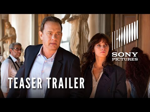 INFERNO - Nový film podle románu Dana Browna. Tom Hanks a Felicity Jopnes. Již v říjnu 2016
