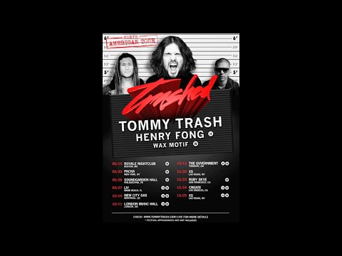 Trashed North America Tour 2014
