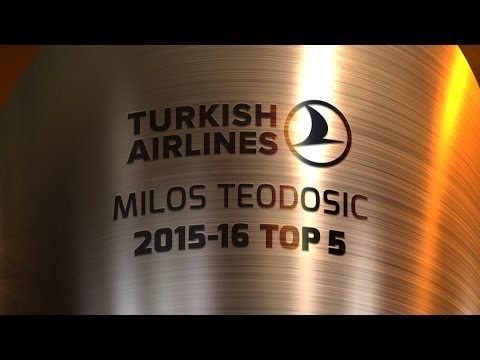 Milos Teodosic Top 5 Plays