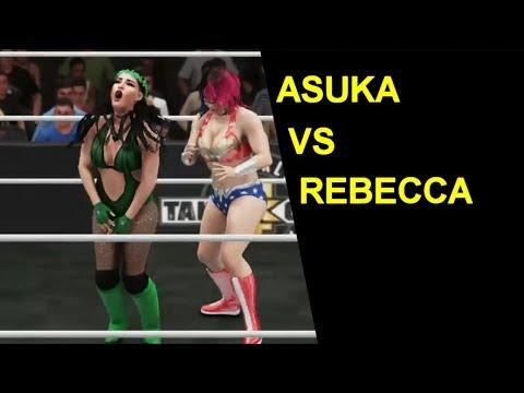 WWE 2K18 Asuka vs Rebecca - Knockout Match
