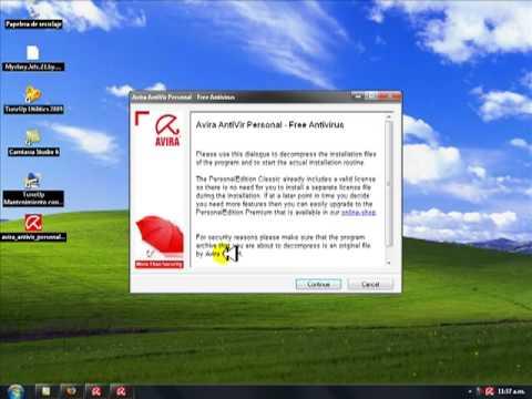 Video 2 de Avira Antivirus: Configurar Avira Antivirus