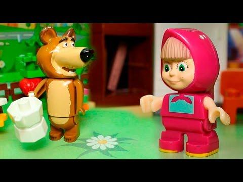 Мультики с игрушками Маша и Медведь все серии подряд без остановки. Мультфильмы для детей