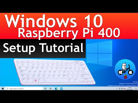 Windows 10 on Raspberry Pi 400. How to setup and Overclock WOR episode 27.