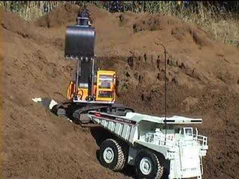 RC Mining Truck