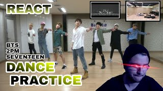 DANCE PRACTICE! BTS I LIKE IT, SEVENTEEN THANKS E 2PM GO CRAZY