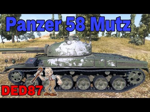 potężny med - Panzer 58 Mutz- World of Tanks