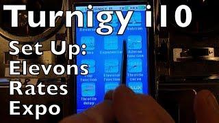 Video Turnigy i10 Radio - Elevon Set Up with Rates and Expo MP3, 3GP, MP4, WEBM, AVI, FLV Mei 2019