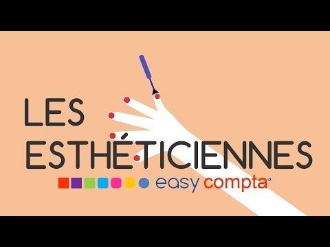 Les Esthéticiens avec easy Compta