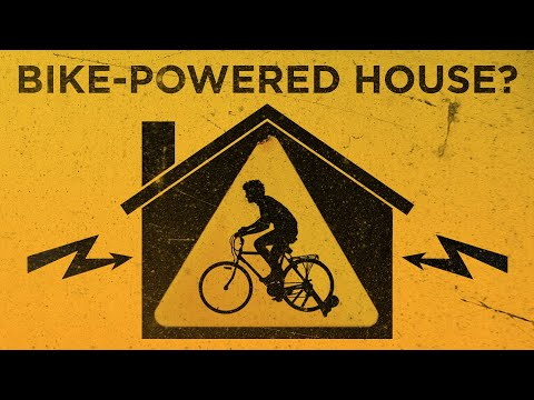 Can you power Your Home With A Bicycle