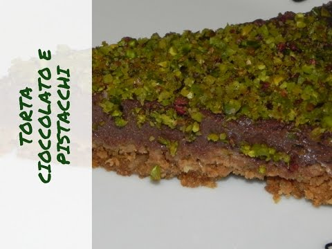 torta cioccolato e pistacchi vegan - ricetta