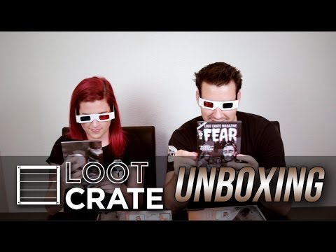 LOOT!!! - We un-box October's Loot Crate that has a theme of 'FEAR'! For those of you who are unaware, Loot Crate is a monthly subscription for under 15 bucks where you receive a box full of nerdy,...