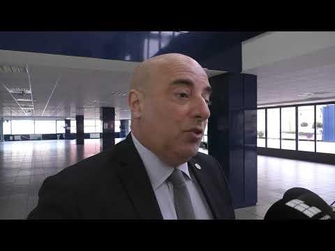 Presentazione autobus a idrogeno della Riviera Trasporti, intervista a Gianni Berrino