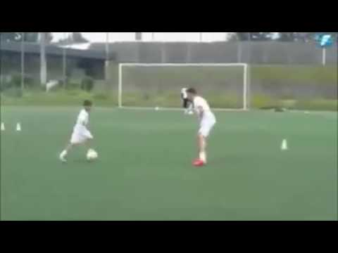 Best Young Talented Footballer Skills Thiago Messi