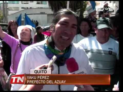 Prefecto del Azuay presentó pregunta para consulta popular sobre minería en Azuay