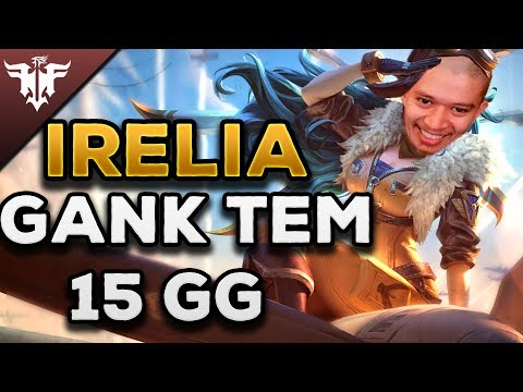 [FFQ-TV] Irelia Gank Tem 15GG - Thời lượng: 6:56.