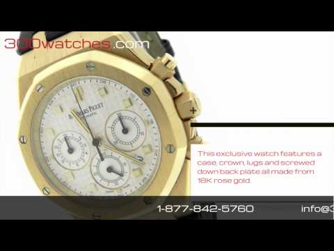 Audemars Piguet Royal Oak G11502 18K Rose Gold Watch