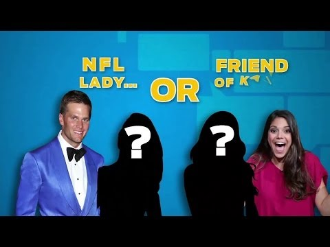 Video: NFL Lady of friend of Katie?