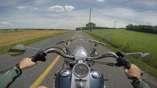 10. 2003 Harley Davidson Road King classic test drive review