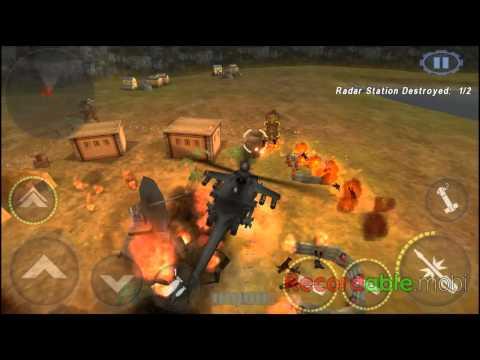 [GUNSHIP BATTLE]Episode 1- All Missions-Black Hawk(GamePlay HD)