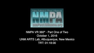 NMPA Virtual Reality 360º Conference Part One
