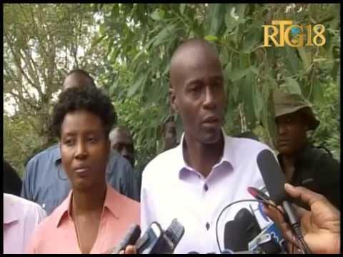 Jovenel Moise, le candidat à la présidence du PHTK a rempli son devoir civique.