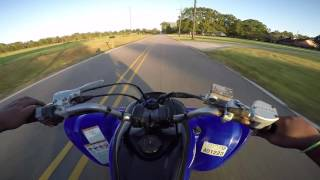 6. Yamaha Raptor 700R First Ride