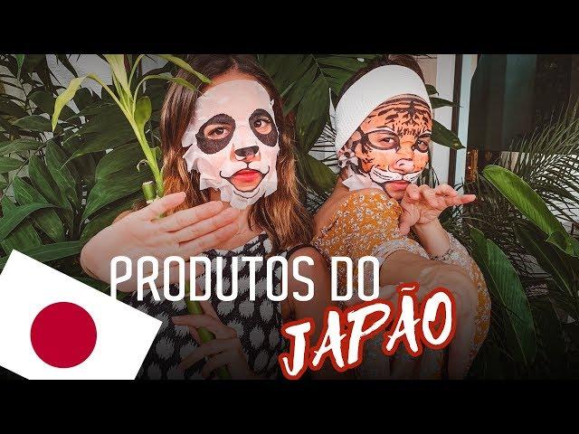 Testando produtos JAPONESES - Sonhos de Crepom