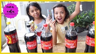 Video COCA COLA VS MENTOS VS BAKING SODA VS SALT ♥ Easy home experiment and educational video for children MP3, 3GP, MP4, WEBM, AVI, FLV Agustus 2018