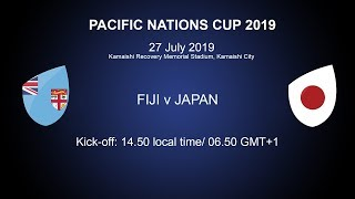 Pacific Nations Cup 2019 – Fiji v Japan
