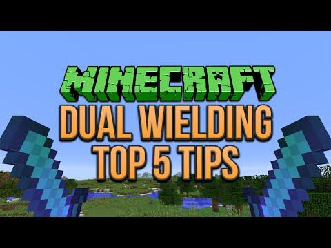 Minecraft 1.9: Dual Wielding Top 5 Tips (Tutorial)