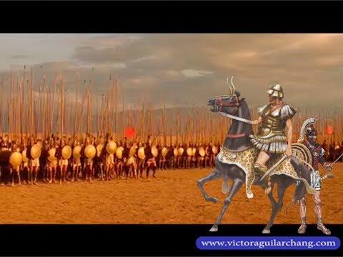 """Mis Videos. """"Batalla de Gaugamela (331 a.C.). El clásico triunfo de la batalla de maniobras."""""""