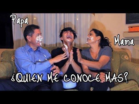 ¿QUIEN ME CONOCE MAS? Mama vs Papa | KikeJav (видео)