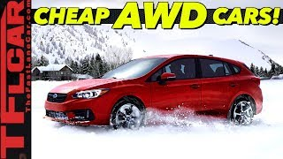 Budget AWD Traction - These Are The Top 10 Cheapest All-Wheel-Drive Cars You Can Buy! by The Fast Lane Car