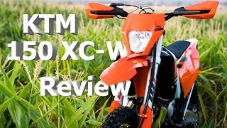 2. KTM 150 XC-W Review |  Who this bike IS for and who it's NOT for